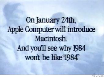 1984 macintosh commercial