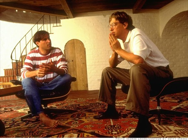 Stevejobs and billgates