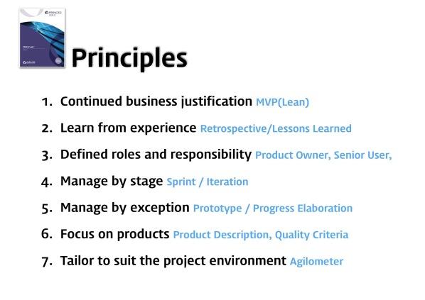 PRINCE2 Agile vs PMI ACP 20