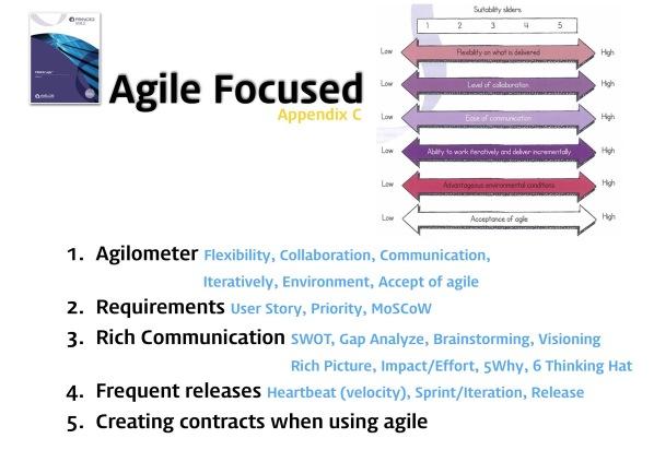 PRINCE2 Agile vs PMI ACP 25