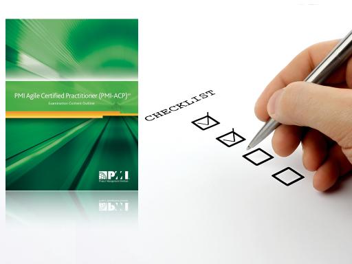 PMI-ACP Agile Checklist