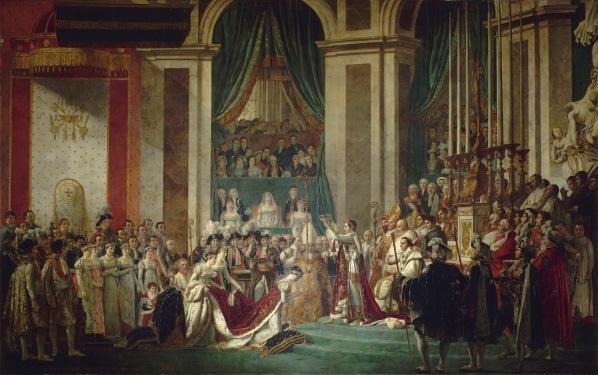 Jacques Louis David Le couronnement de l Empereur et de l Impératrice 2 décembre 1804 Google Art Project