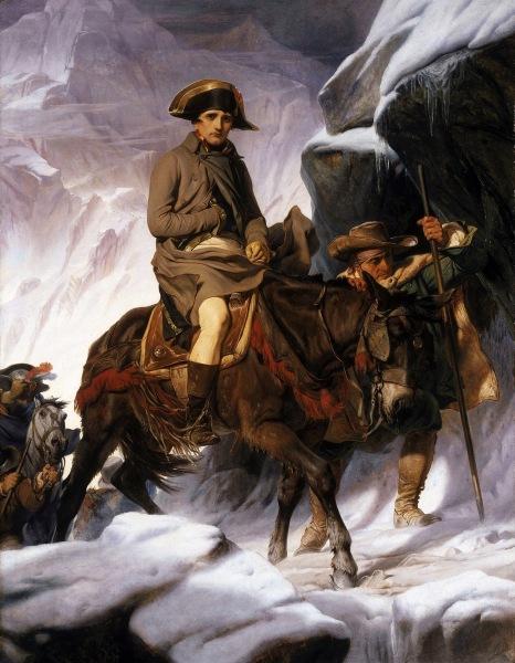 Paul Delaroche Napoleon Crossing the Alps Google Art Project 2