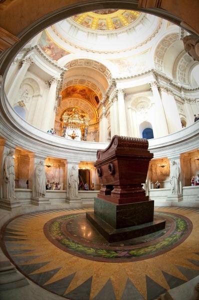 Tomb of Napoleon Bonaparte Crypt of Dôme des Invalides Paris France 25 July 2009
