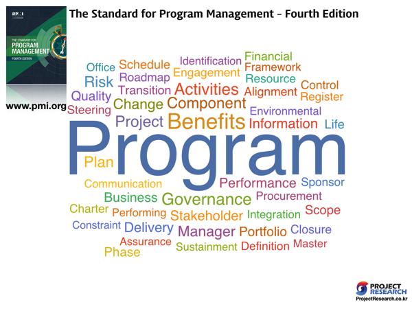 PMI WrodCloud 5 Program Management
